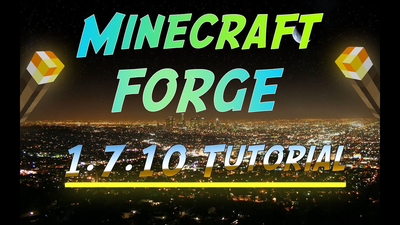 how to run forge
