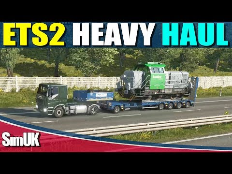 ETS 2 Heavy Haul Accidentally Picked up a 61t Train With Crappy IVECO + it gets Heavier!