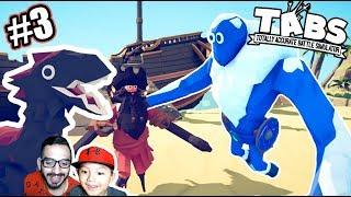 Lucha de Dinosaurios y Gigantes | Simulador de Batallas Locas 3 | Juegos Karim Juega