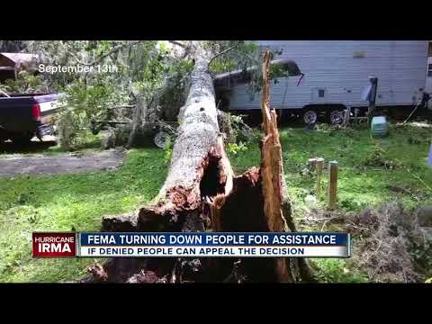 FEMA denying help to many hurricane victims with major damage