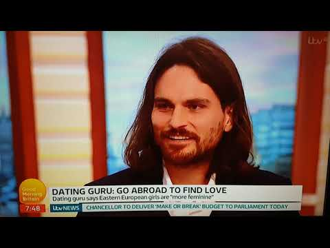 Dating Guru on Good Morning Britain called a Dick by Piers Morgan