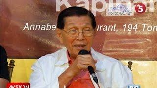 Enrile: plano noon ni Macoy na gumawa ng nuclear power plant