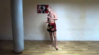 Тайский бокс муай тай  Техника ударов ногами  Урок №2 Muay Thai  Technique of