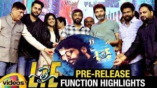 LIE Telugu Movie Pre Release Function HIGHLIGHTS | Nitin | Megha Akash | Hanu Raghavapudi