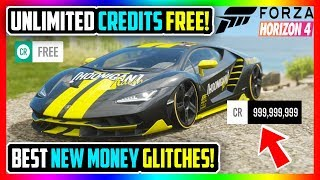 BEST FORZA HORIZON 4 NEW MONEY GLITCHES! UNLIMITED CREDITS FAST! (+GIVEAWAY WINNERS!)