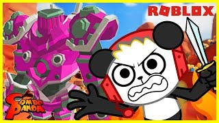 LEVEL 100 BOSS DEFEAT ! Roblox Field of Battle Let's Play with Combo Panda
