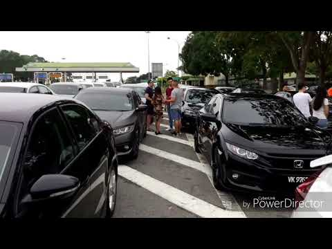 13082017 VW Jetta & Honda FC Joint Convoy