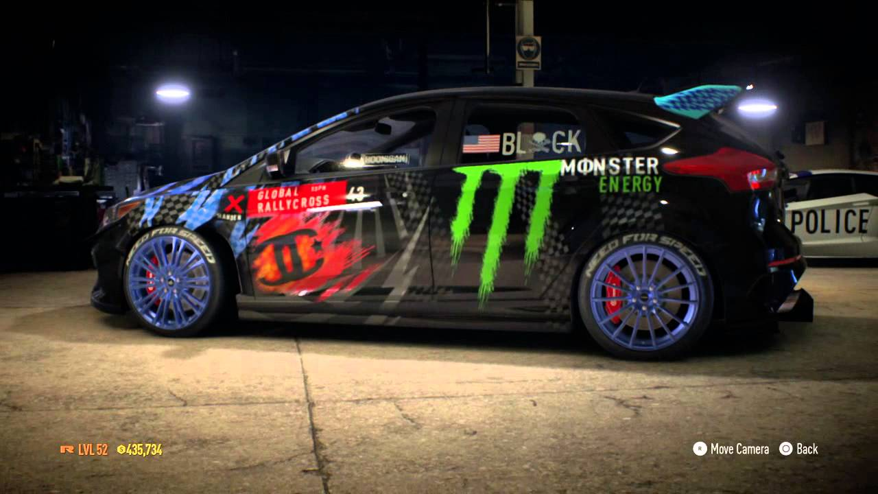 need for speed 2015 ford focus rs ken block youtube. Black Bedroom Furniture Sets. Home Design Ideas