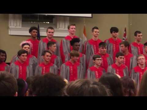 Jack's senior year fall concert Dixie Heights High School bass choir