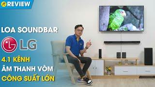 Loa soundbar LG 4.1: Âm thanh vòm sống động, âm bass mạnh mẽ (SN5R) • Điện máy XANH