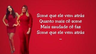 Baixar Some que ele vem atrás (Letra) - Anitta ft. Marília Mendonça