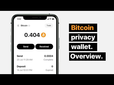 Anonymous Bitcoin Wallet. Hold, Send And Trade BTC Anonymously.