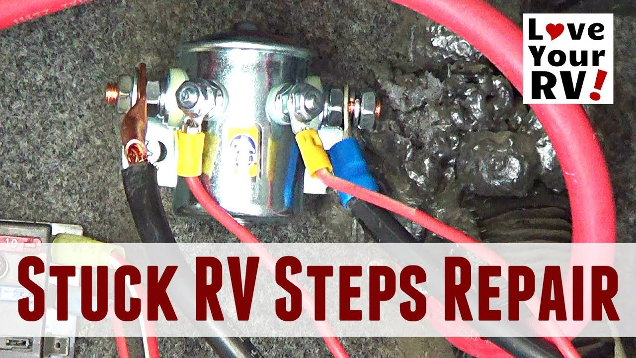 Repairing Stuck Motorhome Steps (Kwikee Steps - Travel Supreme RV) on