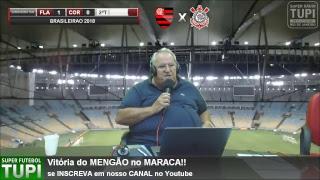 Flamengo 1 x 0 Corinthians - 9ª Rodada - Brasileirão - 03/06/2018 - AO VIVO