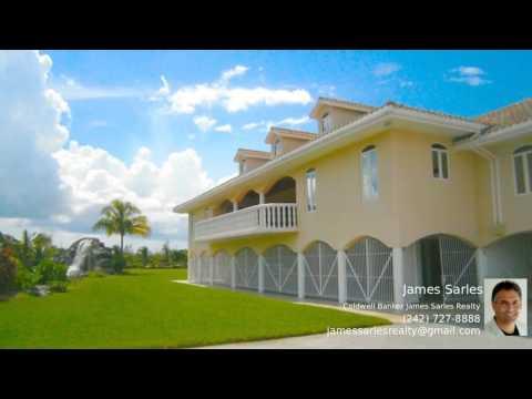 Bahamas Property - Spacious Waterfront Mansion On Grand Bahama Waterway