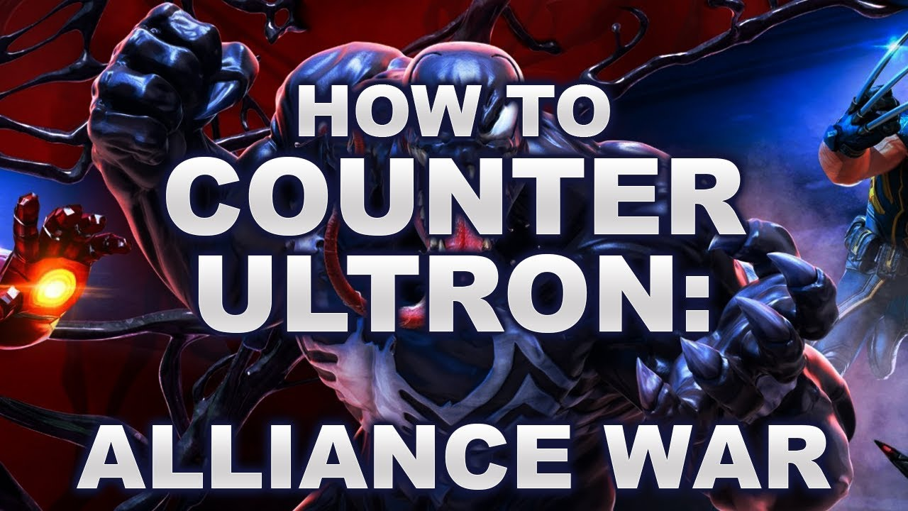 (MSF) How to counter Ultron in Alliance War!
