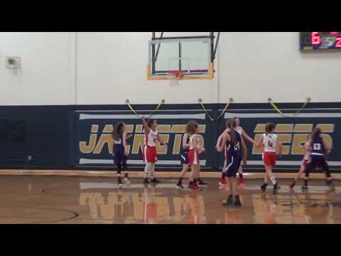 Glen Rose 7th grade Lady Tigers vs Acton middle school