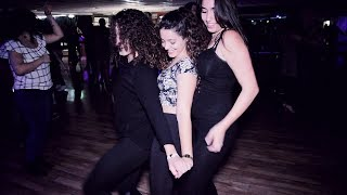 Kim And Gal And Shai @Social Sensual bachata dance [Shape Of You]