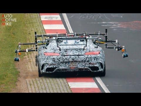 2020 MERCEDES-AMG GT R BLACK SERIES SPIED TESTING AT THE NÜRBURGRING