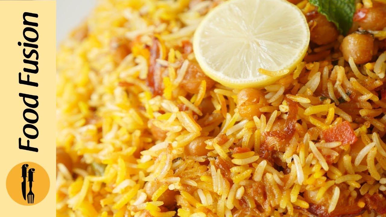 Chana Biryani Recipe by Food Fusion