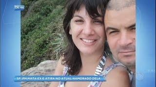 Policial mata ex-mulher e atira cinco vezes contra o atual namorado da vítima