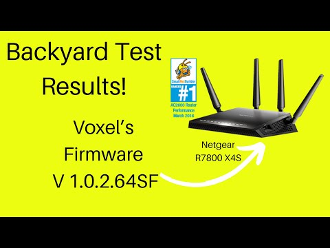 Voxel's Firmware Netgear X4S Test Results with iPhone 6