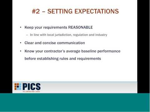 5 Ways to Improve Contractor Evaluation