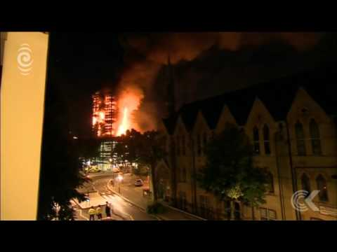 Screaming heard coming from burning London flats