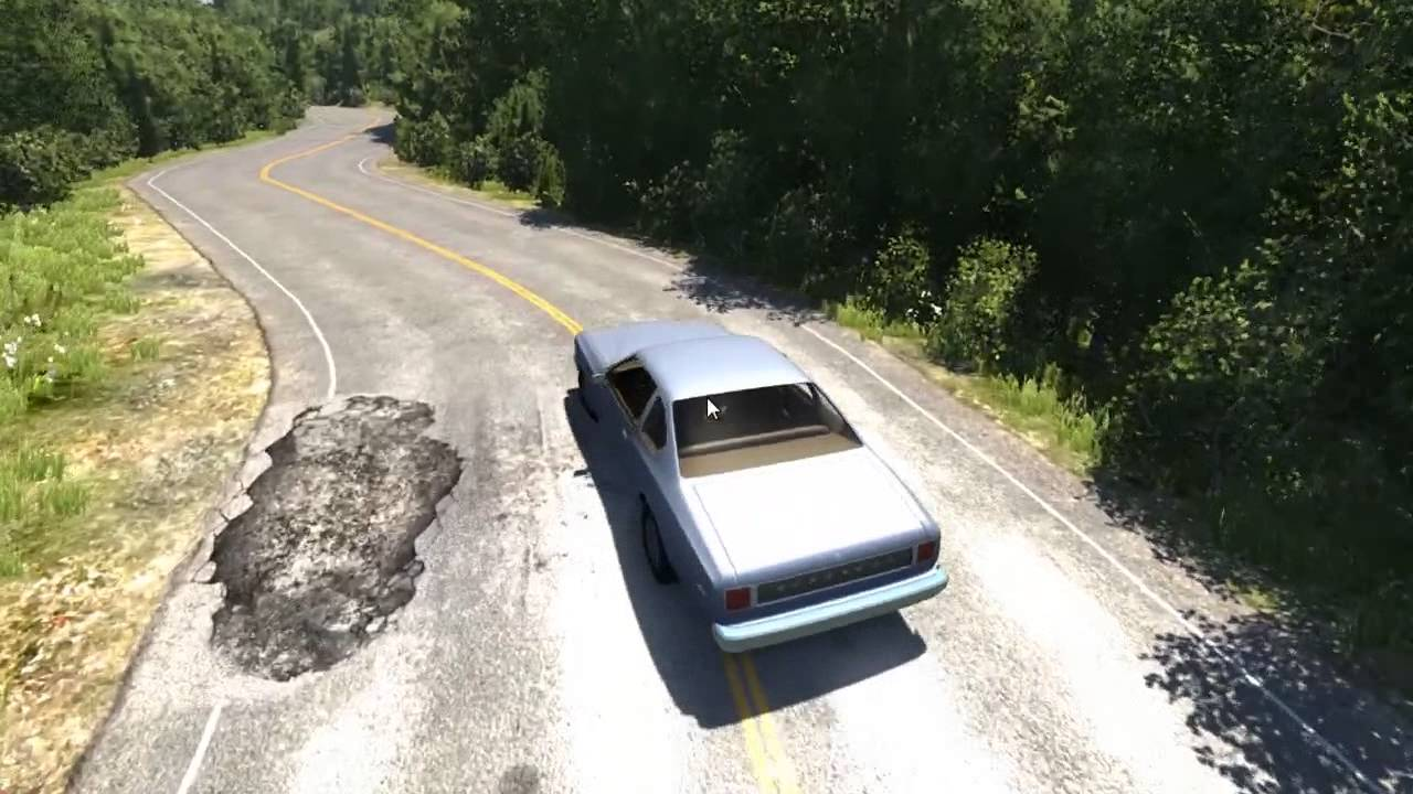 Beamng Realistic Vehicle Crash Simulation Game Stunts Jumps