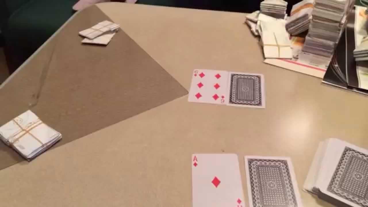 5スタッドポーカー第一回戦〜レ...