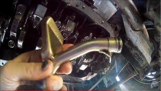 Замена уплотнительного кольца маслоприёмника ВАЗ 2112 и двойная промывка двигателя перед заменой мас