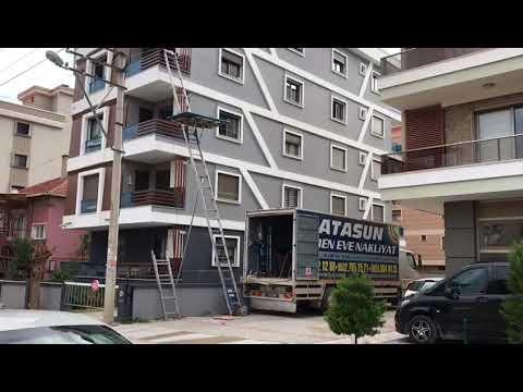 İzmir evden eve asansörlü eşya taşıma nakliyat
