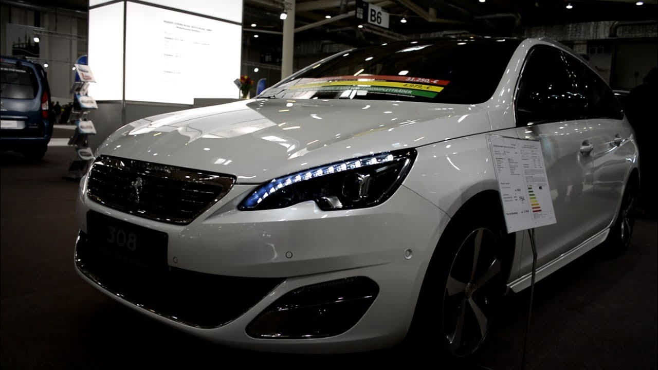 2017 New Peugeot 308 SW Exterior and Interior - YouTube