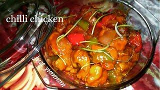Chilli chicken ||chicken chilli|| Indo Chinese recipe||delicious recipe||restaurants style recipe...