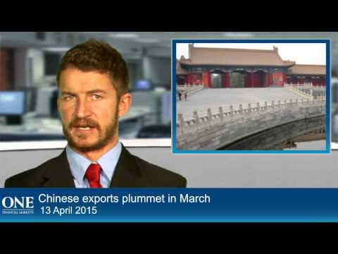 Chinese exports plummet in March