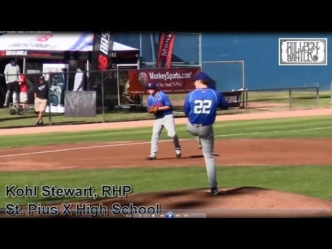 KOHL STEWART PROSPECT VIDEO, ST. PIUS X HIGH SCHOOL