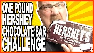 1 Pound Hershey Bar Challenge - 2240 Calories of CHOCOLATE!