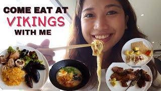 """Eat like a VIKING""   Vikings Luxury Buffet"
