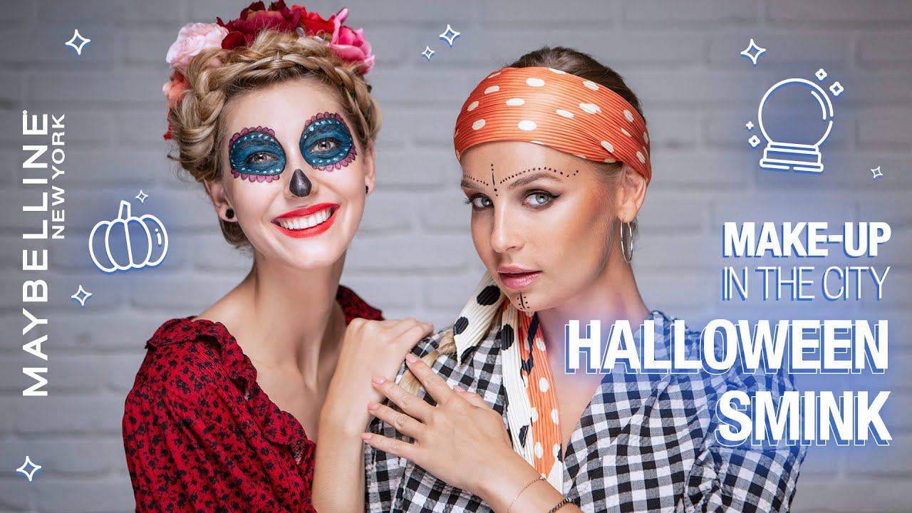 Halloween smink | Maybelline Make-up in the City S04 E09