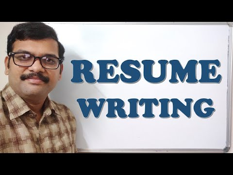 HOW TO WRITE A RESUME | RESUME WRITING – CAREER GUIDANCE