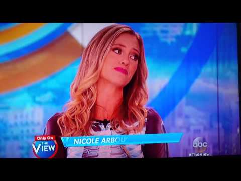 Nicole Arbour on the view