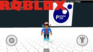 playing person mini games on Roblox