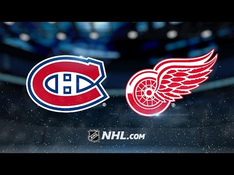 Coreau backstops the Red Wings past the Canadiens