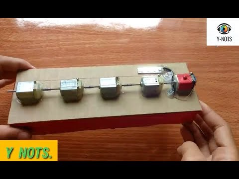 Perpetual motion/Free energy project demonstration