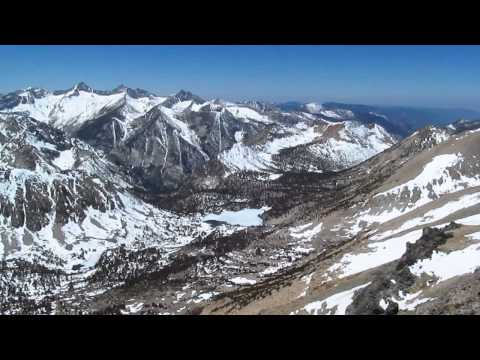 Panorama From Mount Gould- Kings Canyon National Park Wilderness