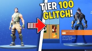 I GLITCHED Tier 100 Battle Pass for Free *BUG* (Fortnite Battle Royale)