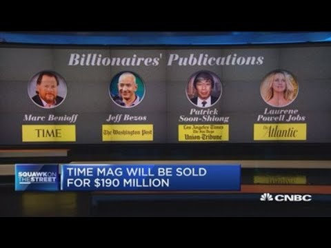 Behind Marc Benioff's Time Magazine acquisition