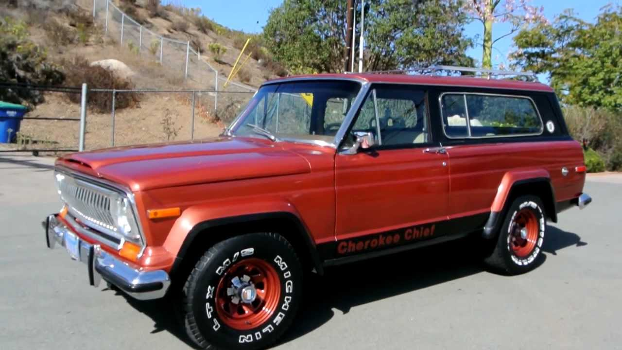 1 owner 1978 jeep cherokee chief s levi edition levi's wt wide track