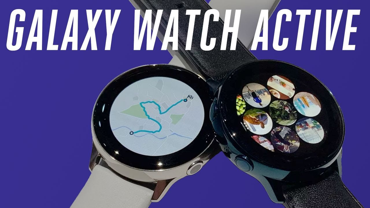 Samsung Galaxy Watch Active hands-on: bye rotating bezels