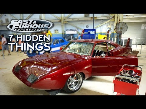 7 Hidden Easter Eggs At Fast & Furious – Supercharged In Universal Studios Florida - HiPS Ep. 5